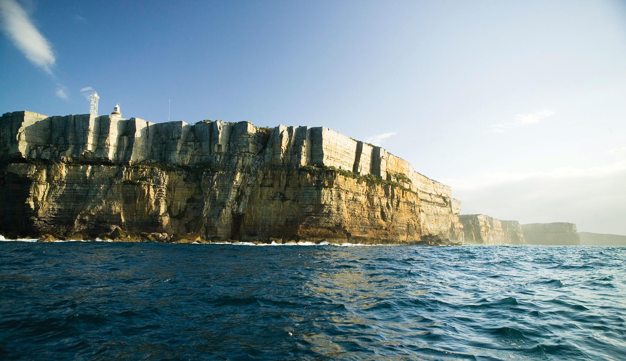 Shoalhaven cliff image